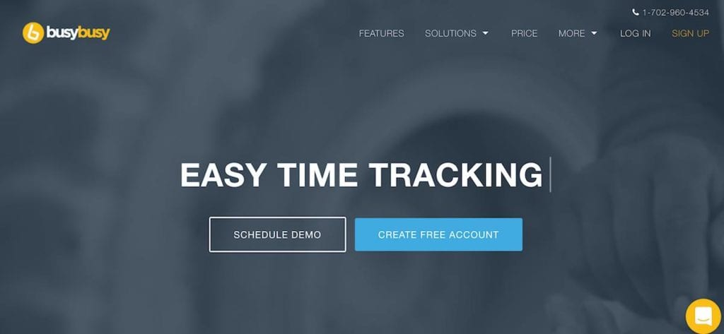 busybusy construction time tracking app