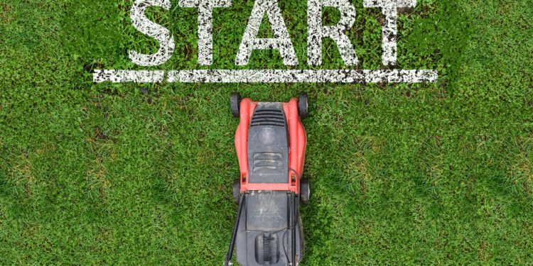start lawn care business