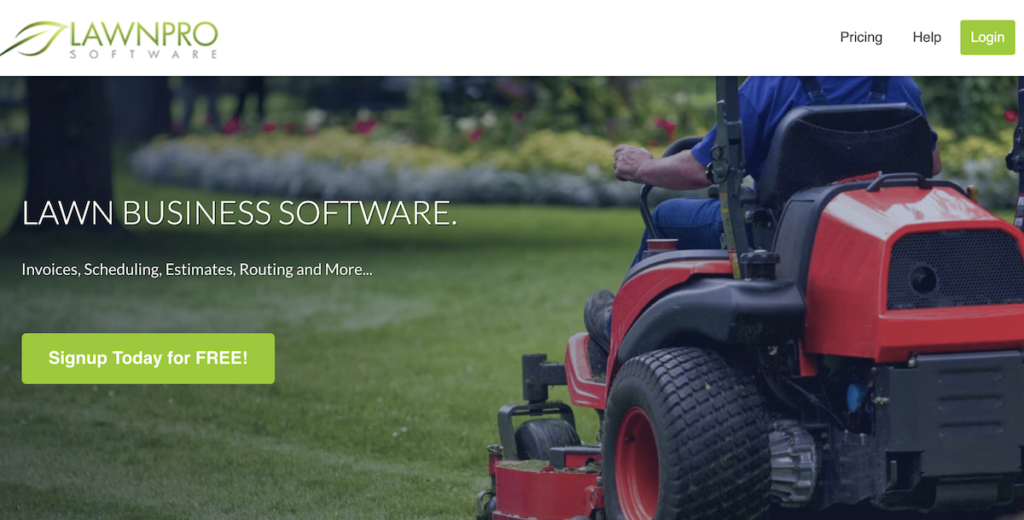 lawnpro for lawn care businesses