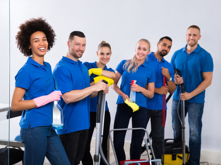 training cleaning staff